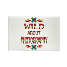 Wild About Photography Rectangle Magnet