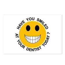 Smiled At Your Dentist Today? Postcards (Package o