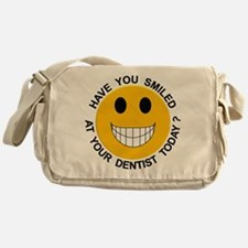 Smiled At Your Dentist Today? Messenger Bag