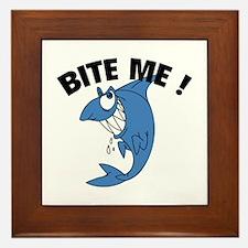 Bite Me ! Framed Tile