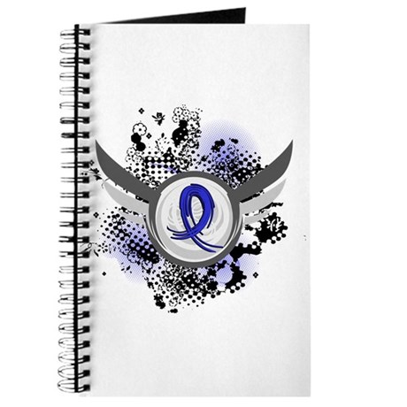 Wings and Ribbon Child Abuse Journal