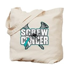 Screw Cervical Cancer Tote Bag