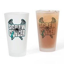 Screw Cervical Cancer Drinking Glass