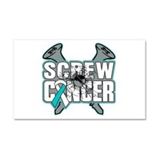 Screw Cervical Cancer Car Magnet 20 x 12