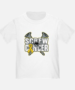 Screw Childhood Cancer T