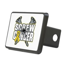 Screw Childhood Cancer Hitch Cover