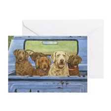 """Truckload of Chessies"" Note Cards (Pk of 10)"