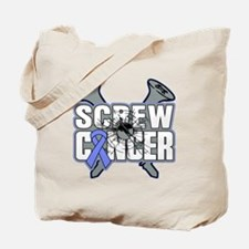 Screw Appendix Cancer Tote Bag