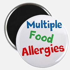 Multiple Food Allergies Magnet