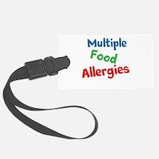 Multiple Food Allergies Luggage Tag