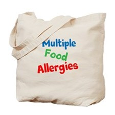 Multiple Food Allergies Tote Bag