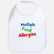 Multiple Food Allergies Bib