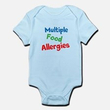 Multiple Food Allergies Infant Bodysuit