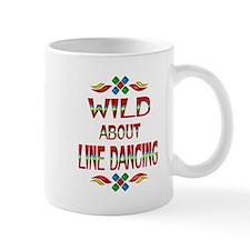 Line Dancing Small Mug