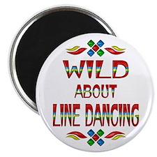 Line Dancing Magnet