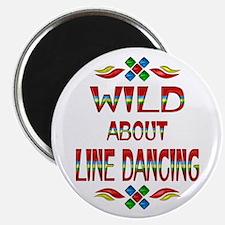 "Line Dancing 2.25"" Magnet (10 pack)"