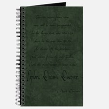Cute Twain quote Journal