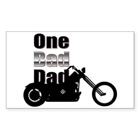 """Father's Day - """"One Bad Dad"""" - Sticker ("""