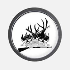 Muzzleloader Hunter Wall Clock