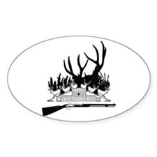 Muzzleloader Hunter Decal