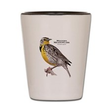 Western Meadowlark Shot Glass