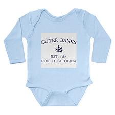 Outer Banks Established 1587 Long Sleeve Infant Bo