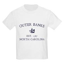 Outer Banks Established 1587 T-Shirt