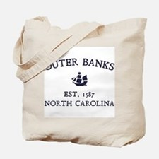 Outer Banks Established 1587 Tote Bag