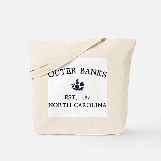 Outer Banks Established 1587 Tote Bag