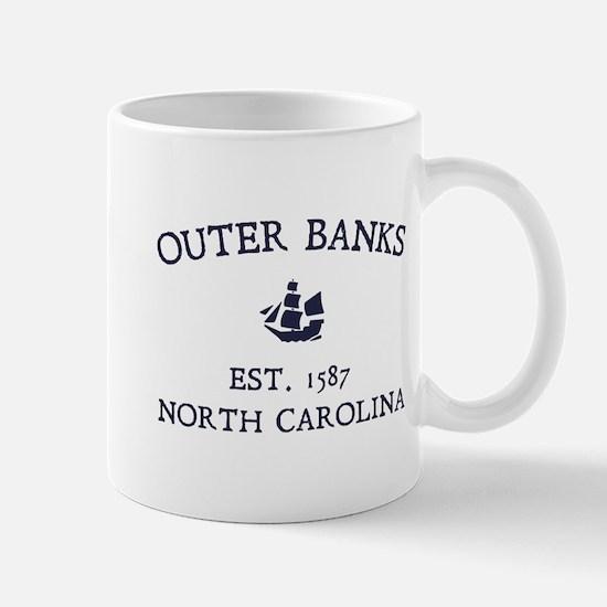 Outer Banks Established 1587 Mug