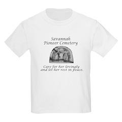 Savannah Pioneer Cemetery Kids T-Shirt