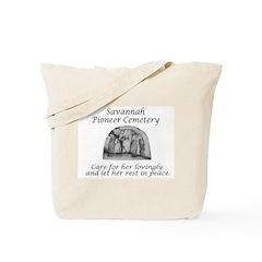 Savannah Pioneer Cemetery Tote Bag