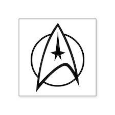 """Starfleet Square Sticker 3"""" x 3"""""""