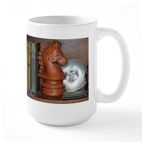 THE INVISIBLE KNIGHT™ Large Mug