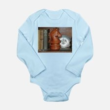 THE INVISIBLE KNIGHT™ Long Sleeve Infant Bodysuit