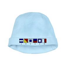 Nautical Joseph baby hat