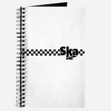 Ska Dancing Feet with Checkers Journal