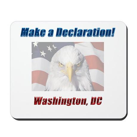 Make a Declaration: Washington DC Eagle Mousepad