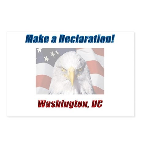 Make a Declaration: Washington DC Eagle Postcards