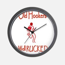 Rugby Old Hookers 6000.png Wall Clock