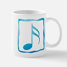 Blue Musical Note Mug