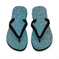 Blue Water Flip Flops