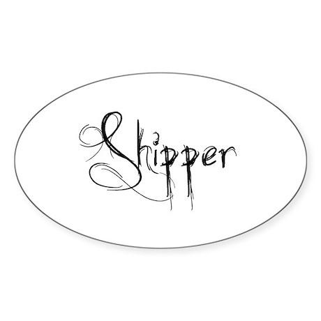 Shipper Sticker (Oval 10 pk)
