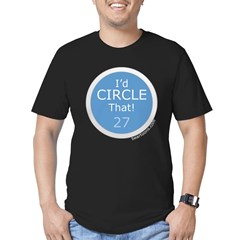 Id Circle That Men's Fitted T-Shirt (dark)