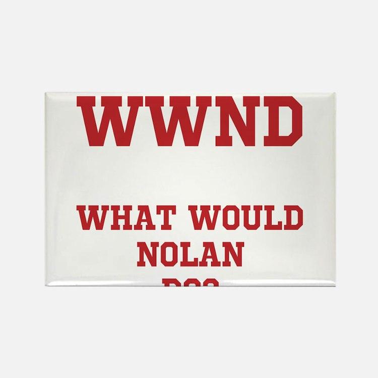 Cute Nolan Rectangle Magnet