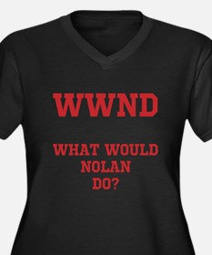 Funny What would poe do Women's Plus Size V-Neck Dark T-Shirt