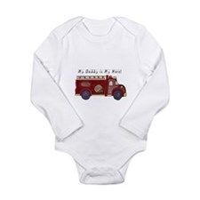Daddy is my Hero - Fireman Body Suit