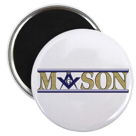 "Masons 2.25"" Magnet (100 pack)"