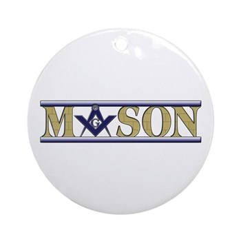 Masons Ornament (Round)