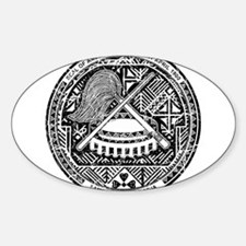 American Samoa Coat Of Arms Decal